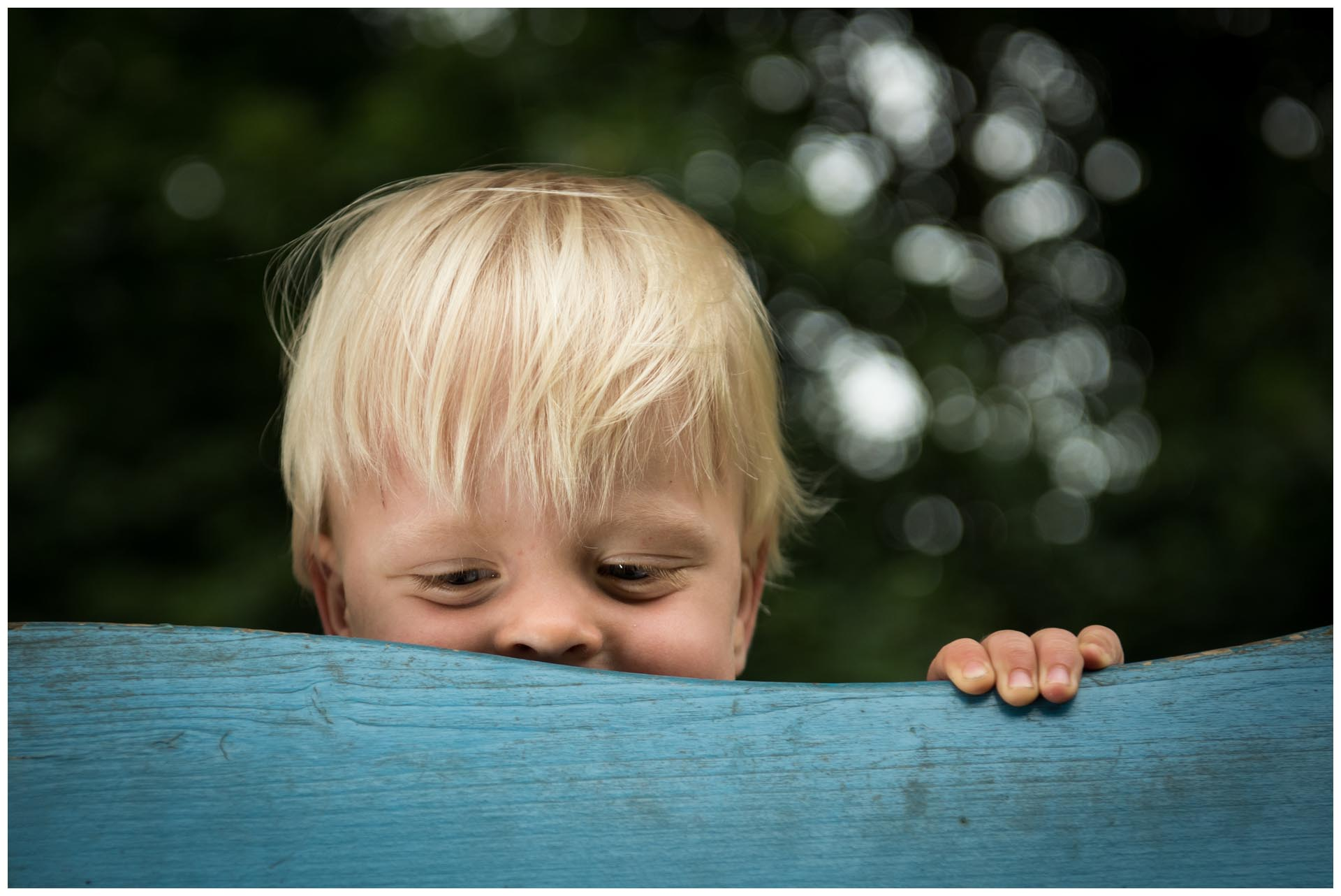 Kinderfoto Willem de Leeuw