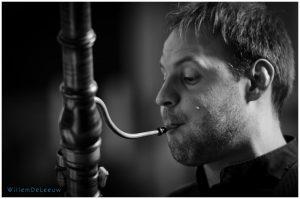 barokfagot zwart wit foto Willem De Leeuw