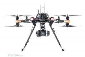 bedrijfsfotografie productfoto drone willem de leeuw