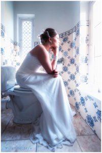 grappige bruidsfoto Willem De Leeuw