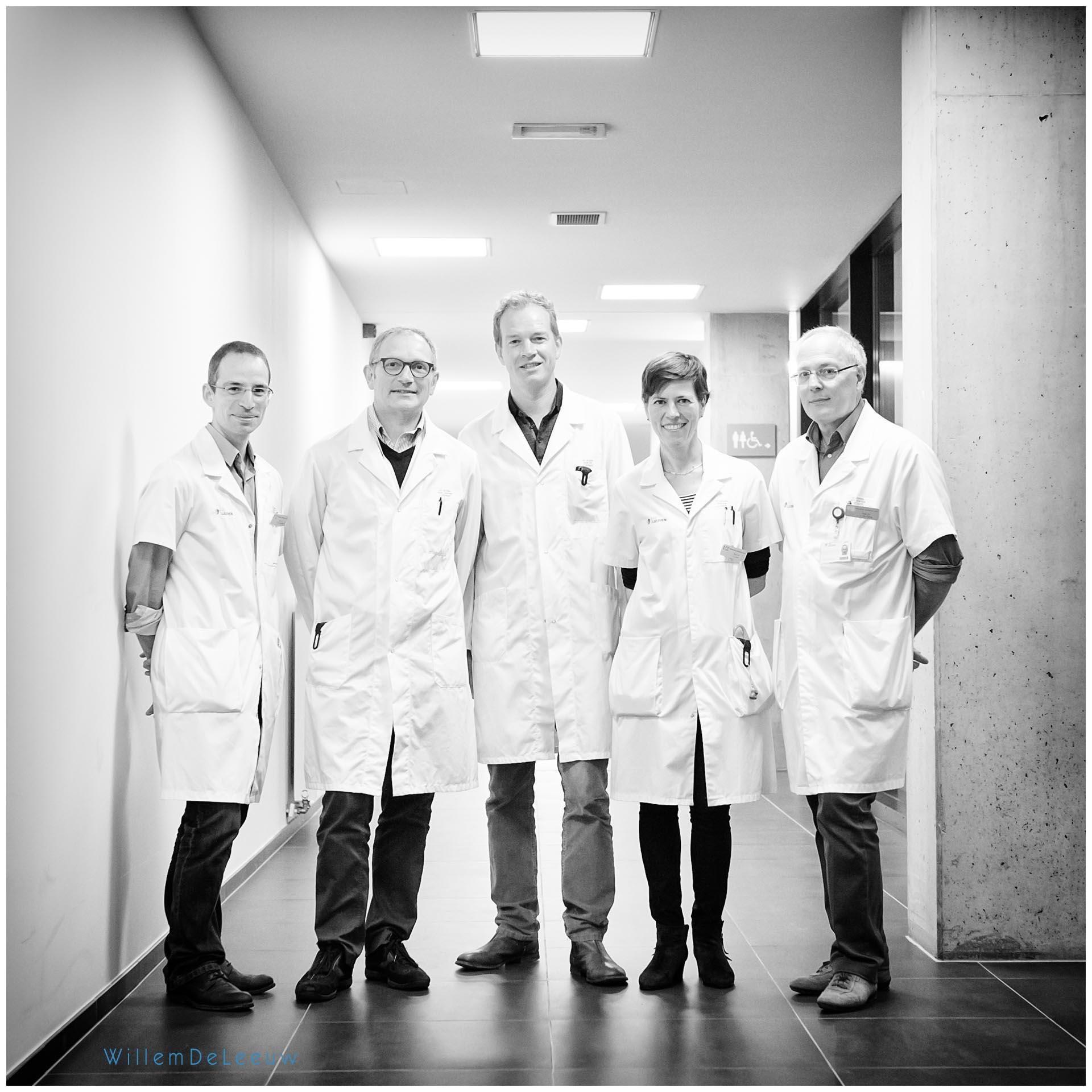 groepsfoto artsen Willem de leeuw