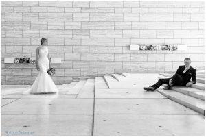 huwelijksfoto Leuven museum