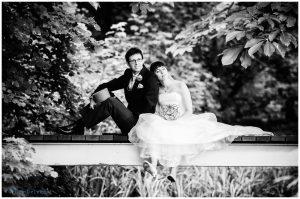 huwelijksfoto zwart wit willem de leeuw