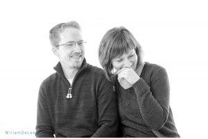 portret van papa en mama in de studio WillemDeLeeuw