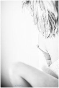 sensuele foto zwart wit Willem De Leeuw