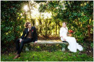tegenlicht huwelijksfoto Willem De Leeuw