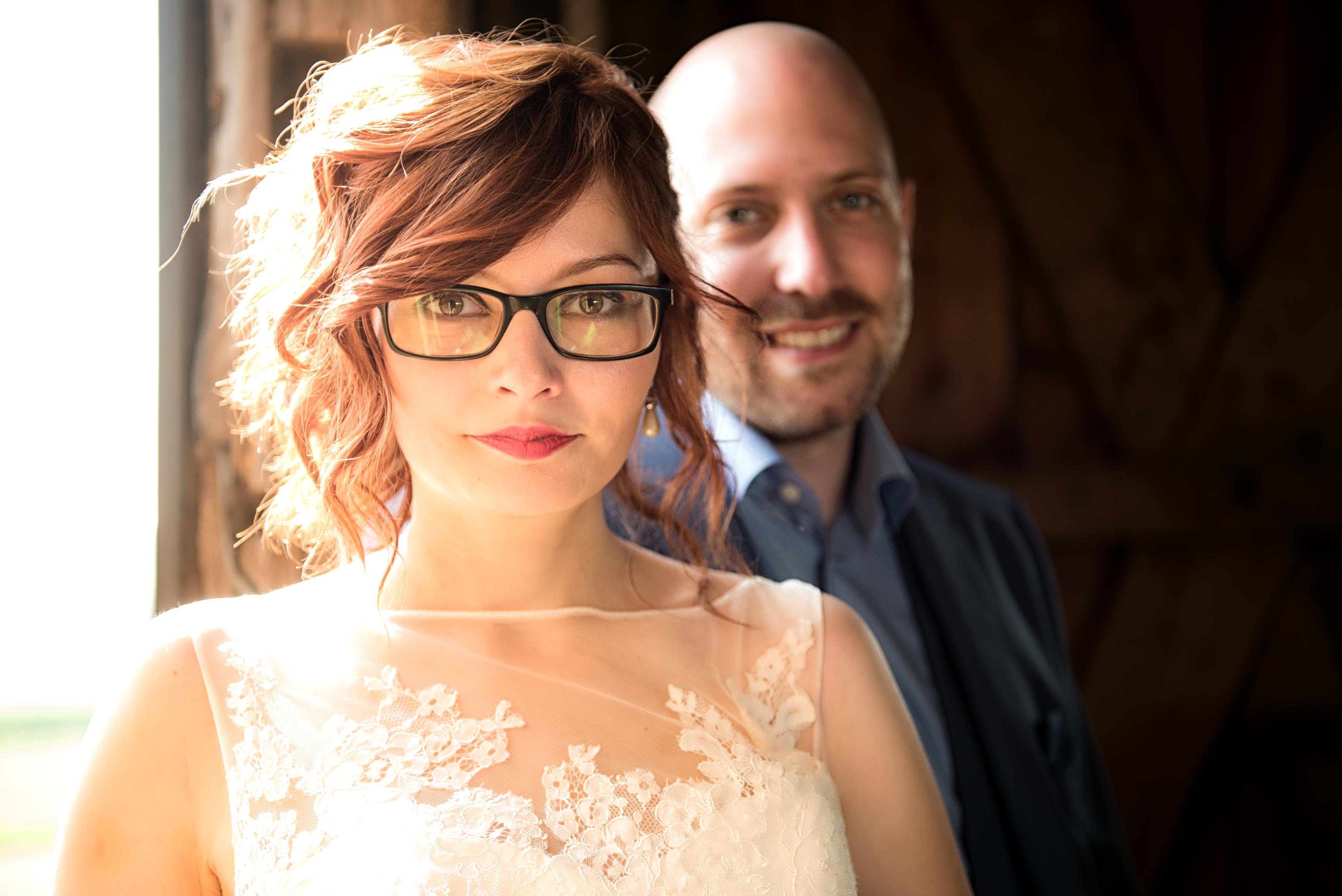 Rode lippen bruid Willem De Leeuw fotografie