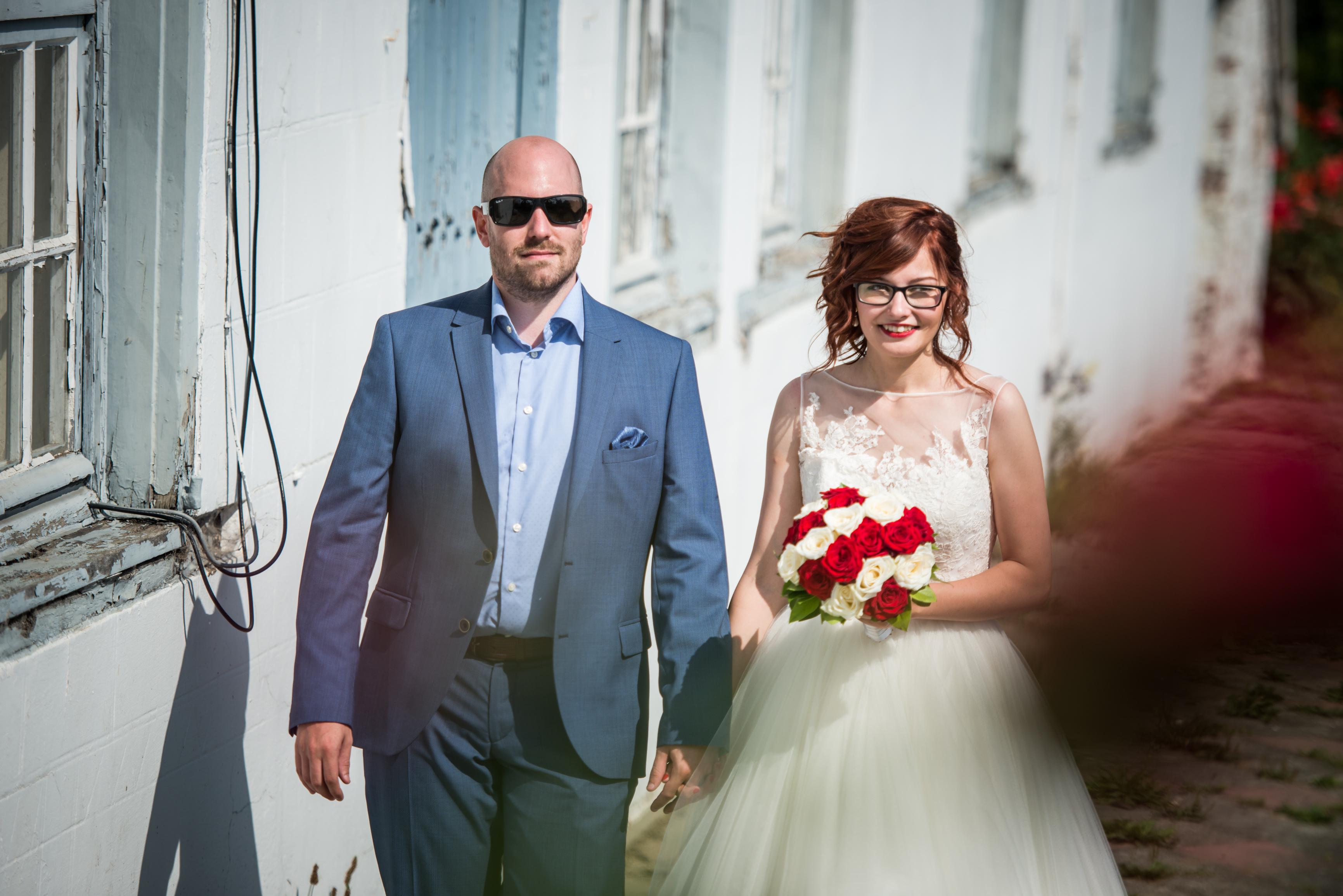 bruid en bruidegom Willem De Leeuw trouwreportage