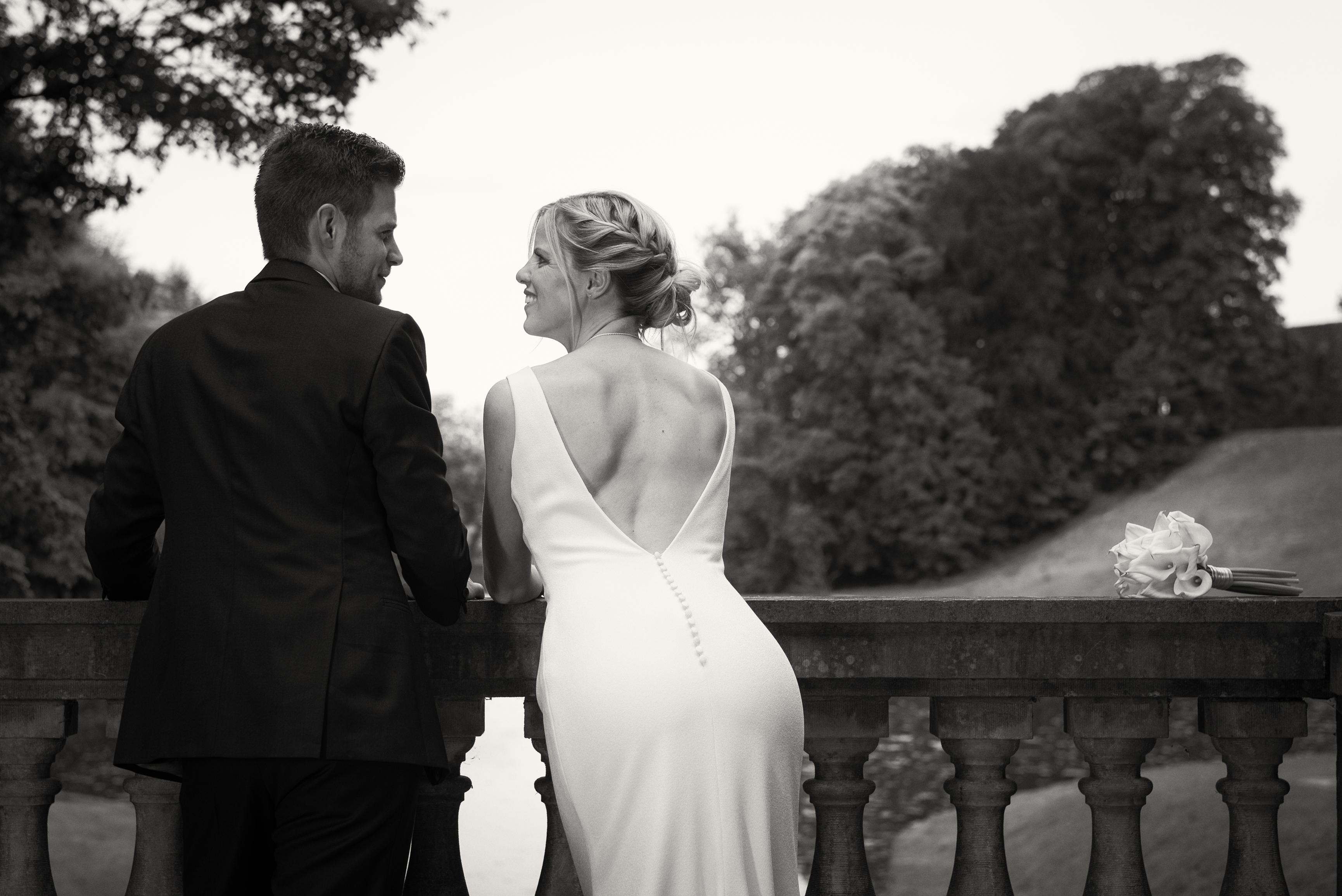 mooi bruidspaar Willem De Leeuw trouwreportage