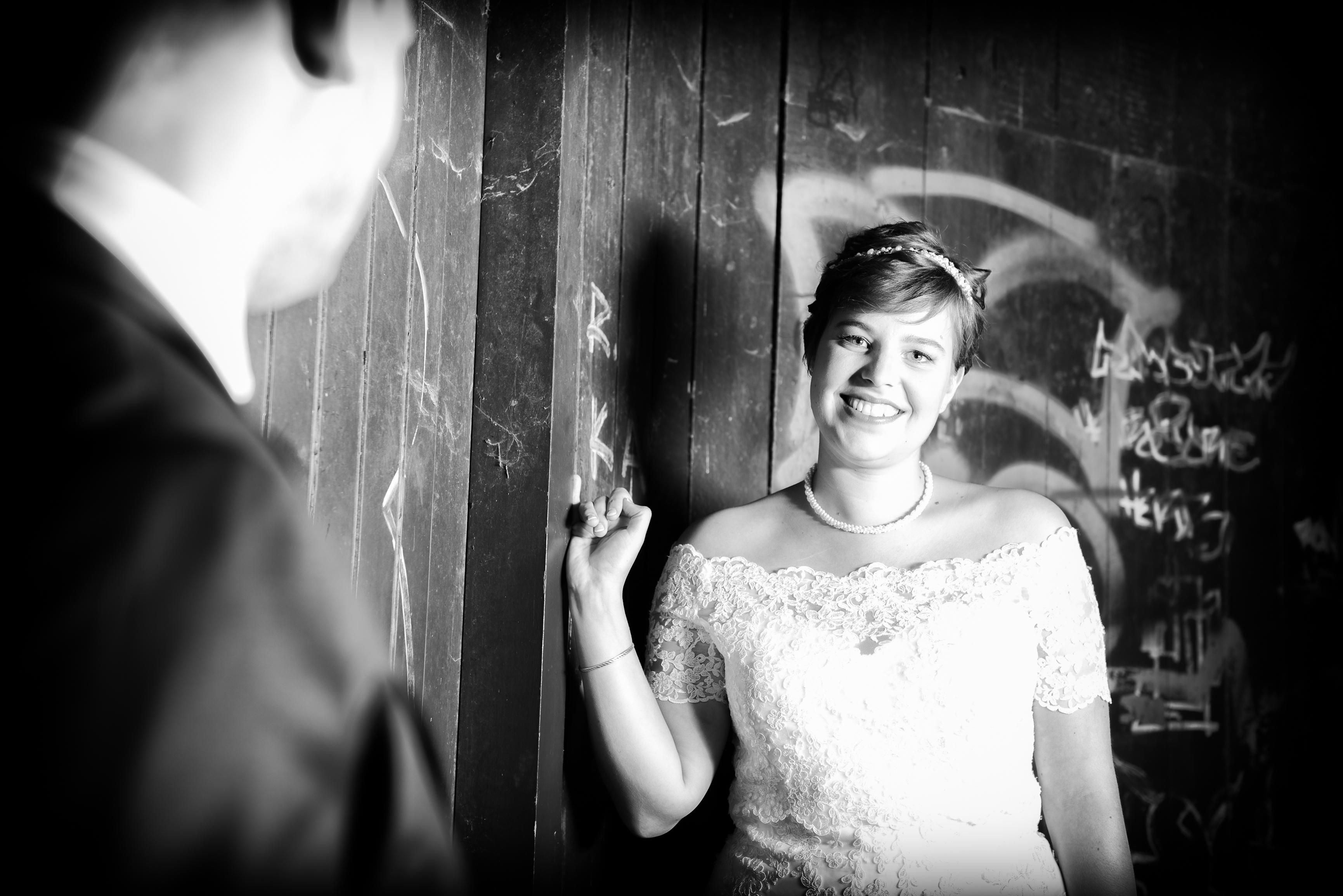 stralende bruid! Willem De Leeuw bruidsfotografie