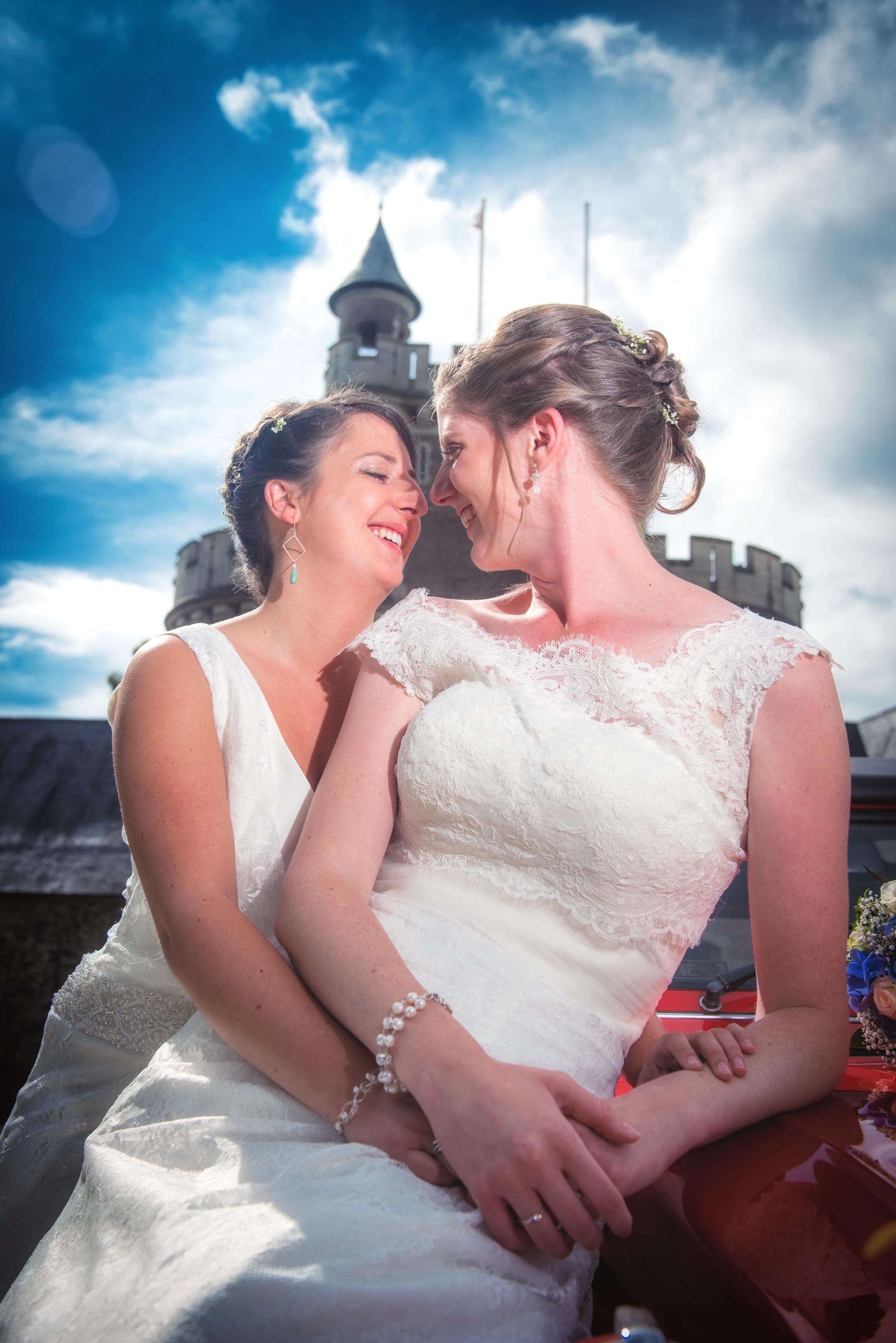 sjiek zij/zij koppel Willem De Leeuw bruidsfotografie
