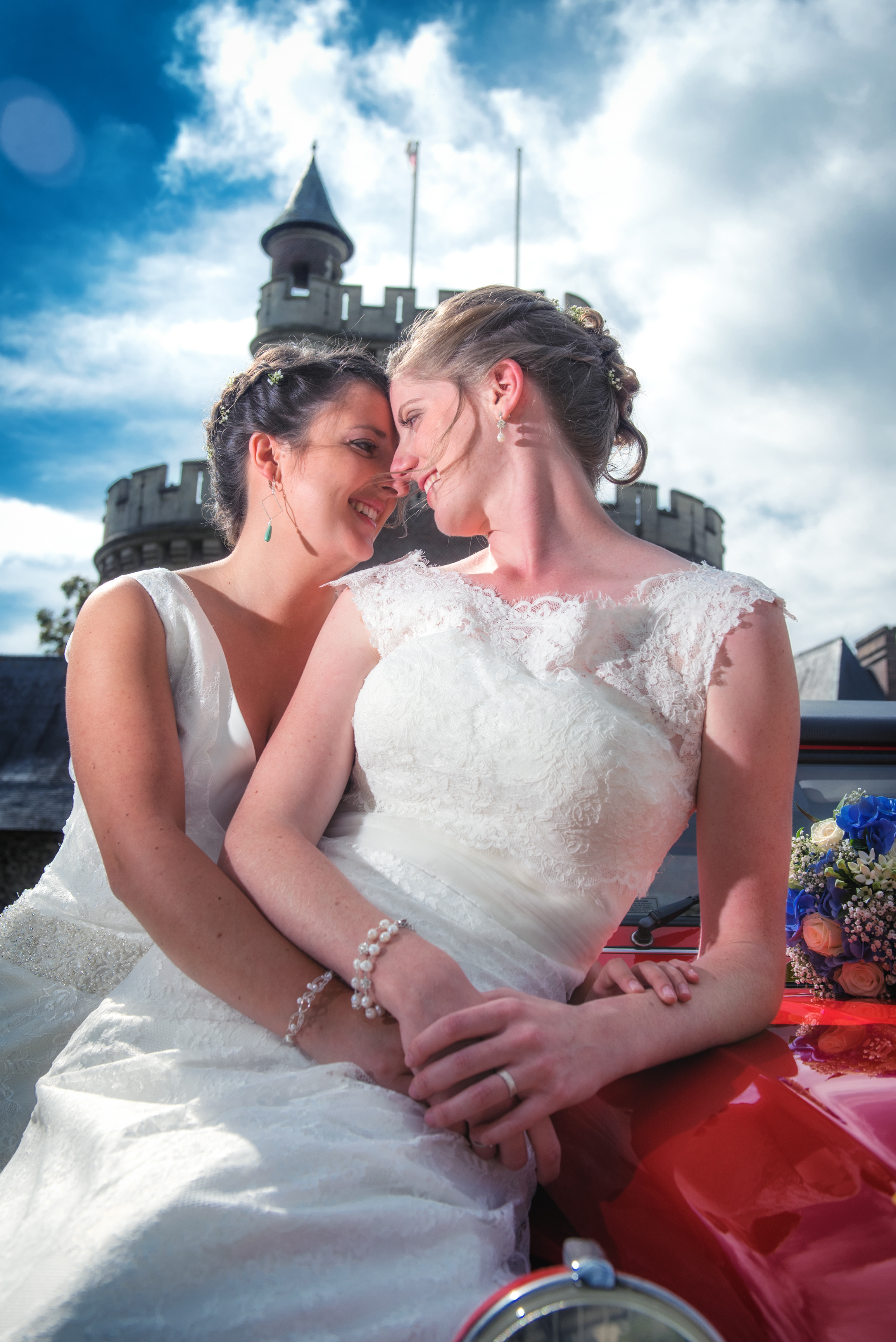 2 bruiden op één foto Willem De Leeuw bruidsfotografie