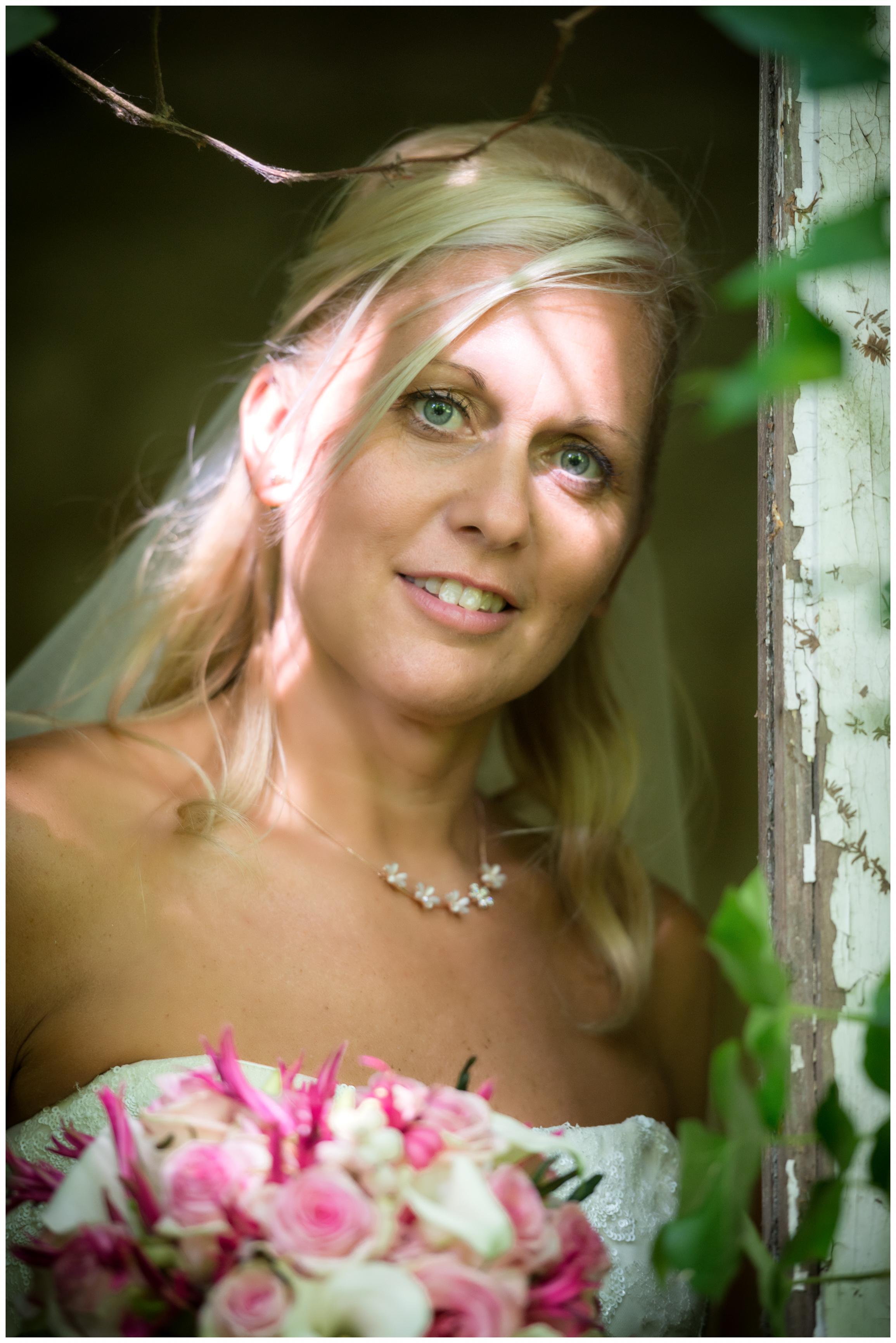zonnige bruid Willem De Leeuw bruidsfotografie